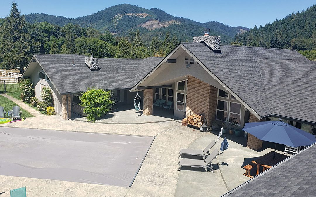 Roof Replacement & Seamless Gutter System in Azalea, Oregon